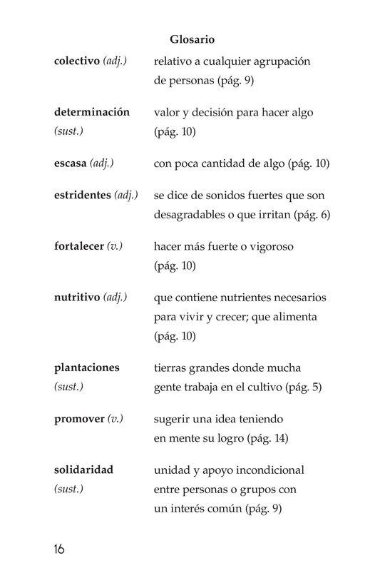 Book Preview For Rigoberta Menchú, La lideresa quiché Page 16