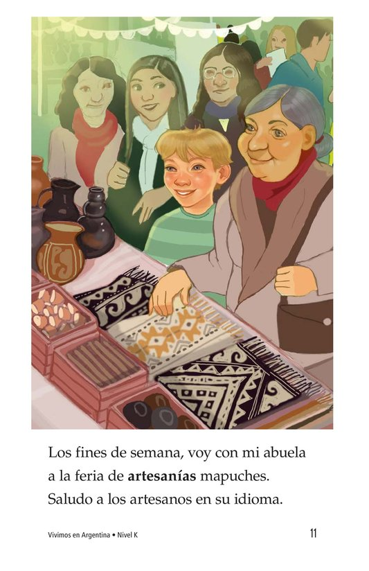 Book Preview For Vivimos en Argentina Page 11