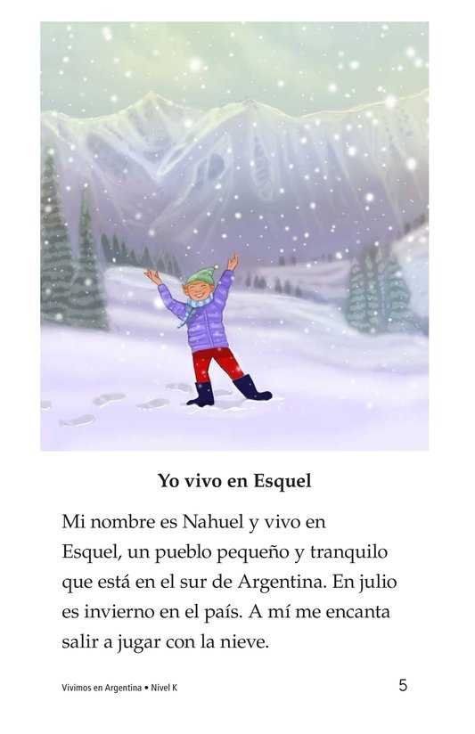 Book Preview For Vivimos en Argentina Page 5