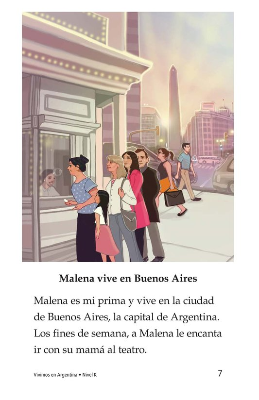 Book Preview For Vivimos en Argentina Page 7