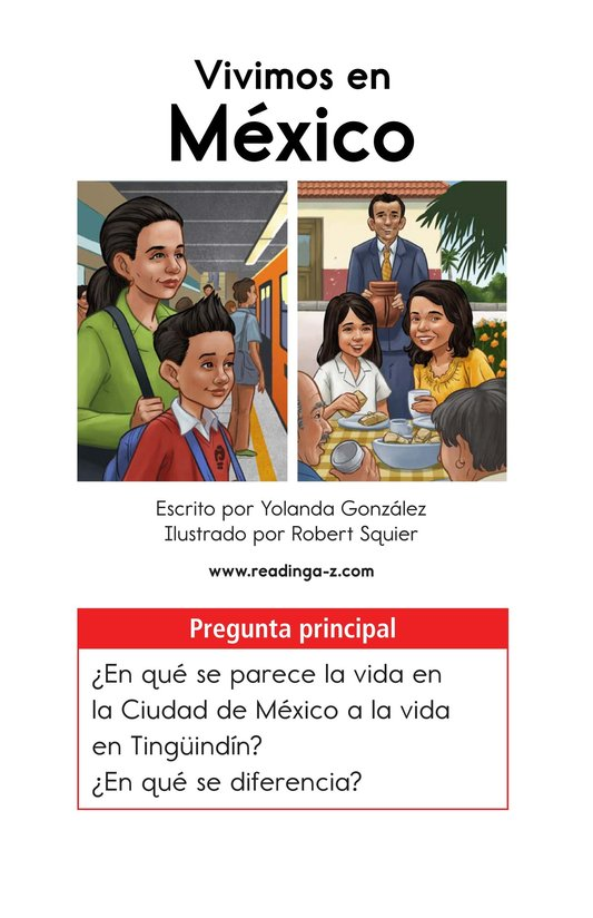 Book Preview For Vivimos en Mexico Page 1