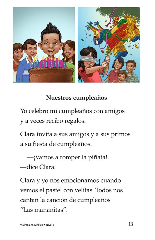 Book Preview For Vivimos en Mexico Page 13