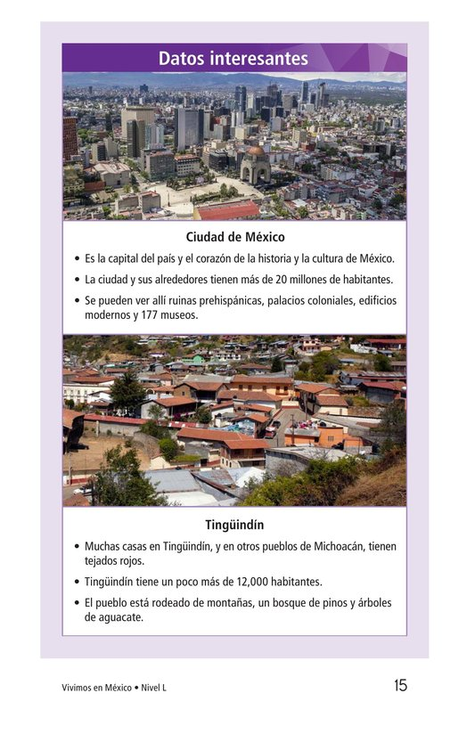 Book Preview For Vivimos en Mexico Page 15