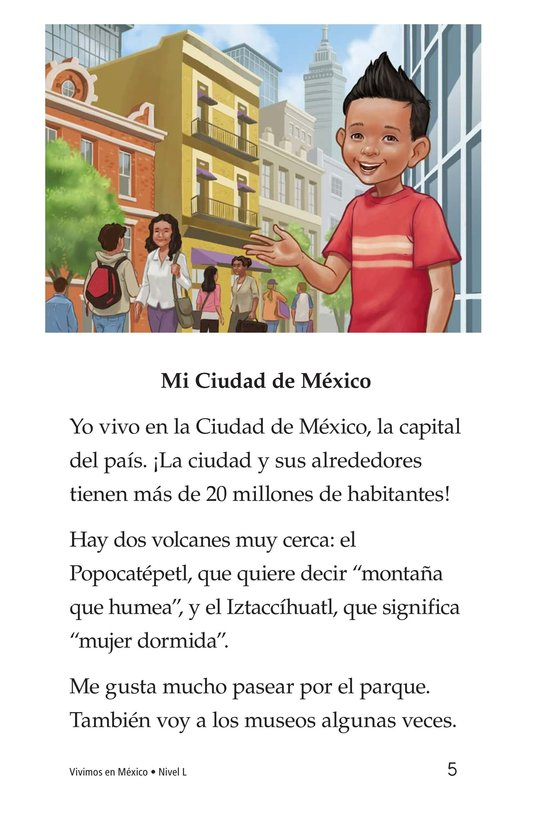 Book Preview For Vivimos en Mexico Page 5
