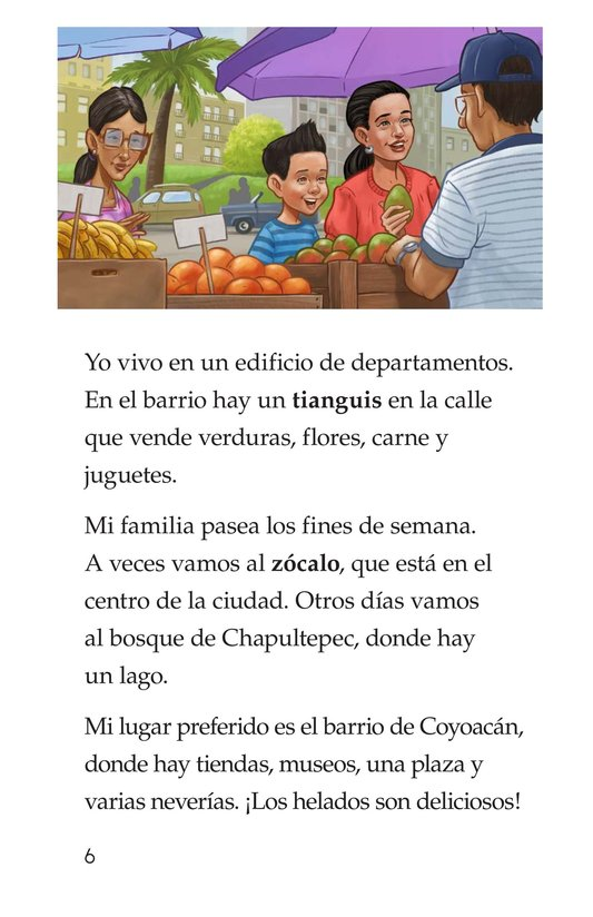 Book Preview For Vivimos en Mexico Page 6