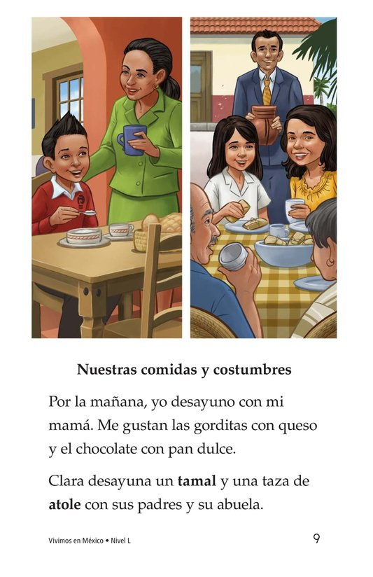 Book Preview For Vivimos en Mexico Page 9
