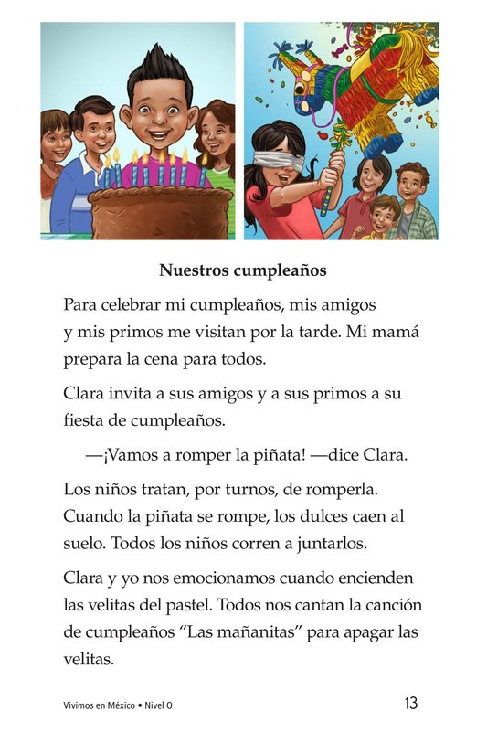 Book Preview For Vivimos en Mexico Page 13