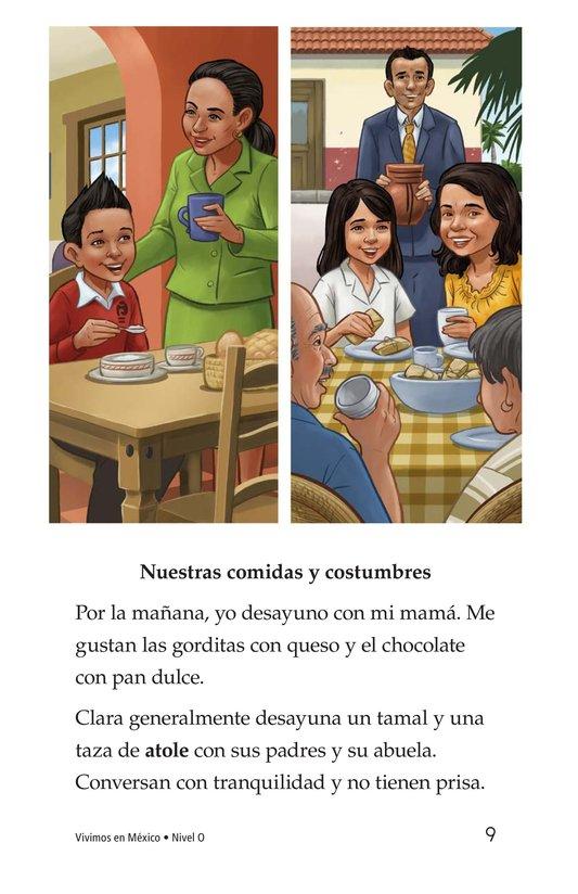 Book Preview For Vivimos en Mexico Page 9