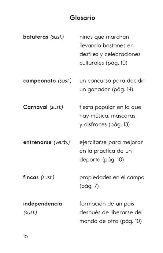 Book Preview For Vivimos en República Dominicana Page 16
