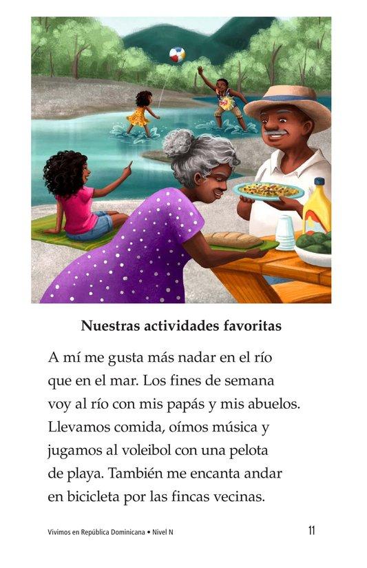 Book Preview For Vivimos en República Dominicana Page 11
