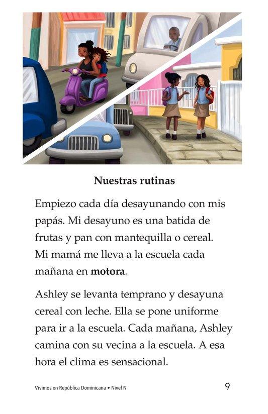 Book Preview For Vivimos en República Dominicana Page 9