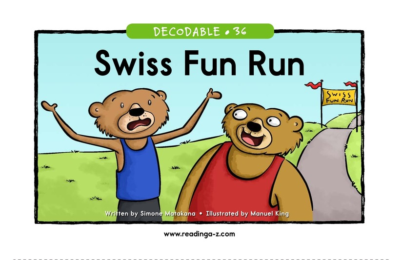 Book Preview For Swiss Fun Run Page 1