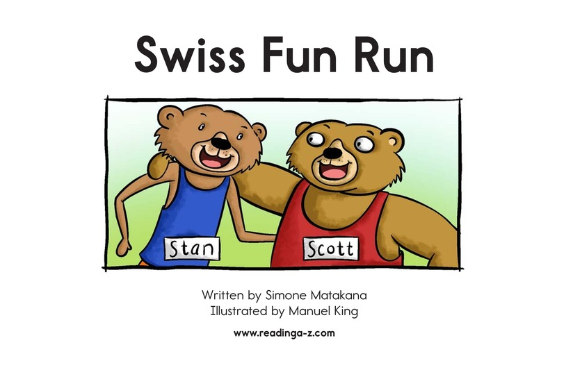 Book Preview For Swiss Fun Run Page 2