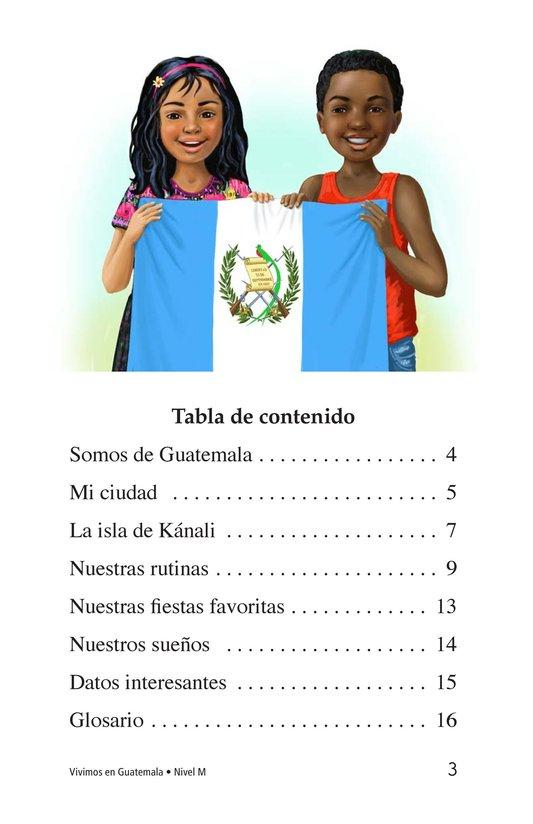 Book Preview For Vivimos en Guatemala Page 3