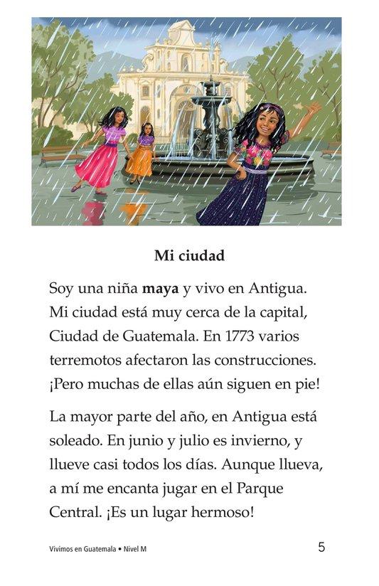 Book Preview For Vivimos en Guatemala Page 5