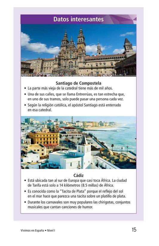 Book Preview For Vivimos en España Page 15