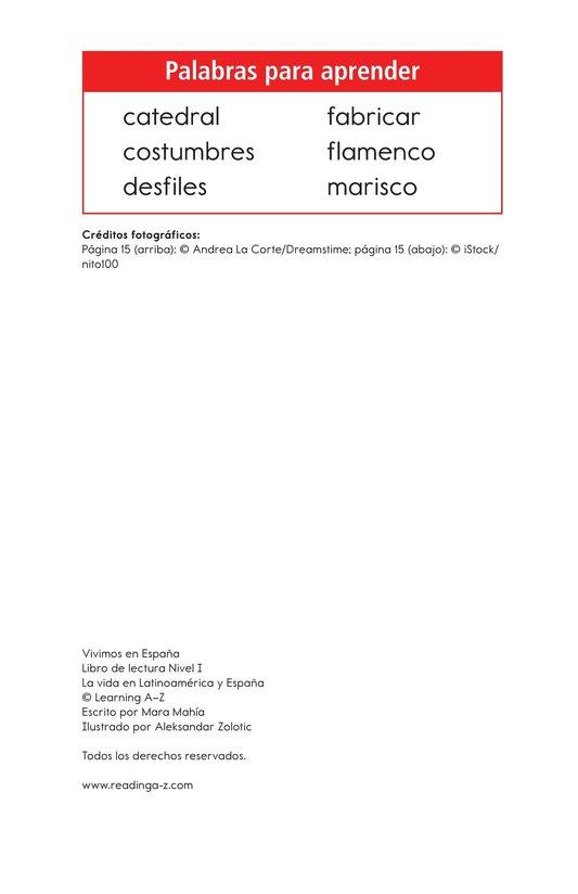 Book Preview For Vivimos en España Page 2