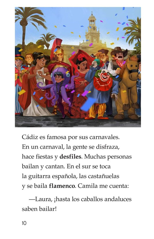 Book Preview For Vivimos en España Page 10