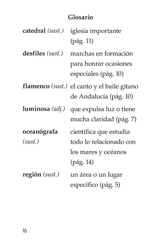 Book Preview For Vivimos en España Page 16