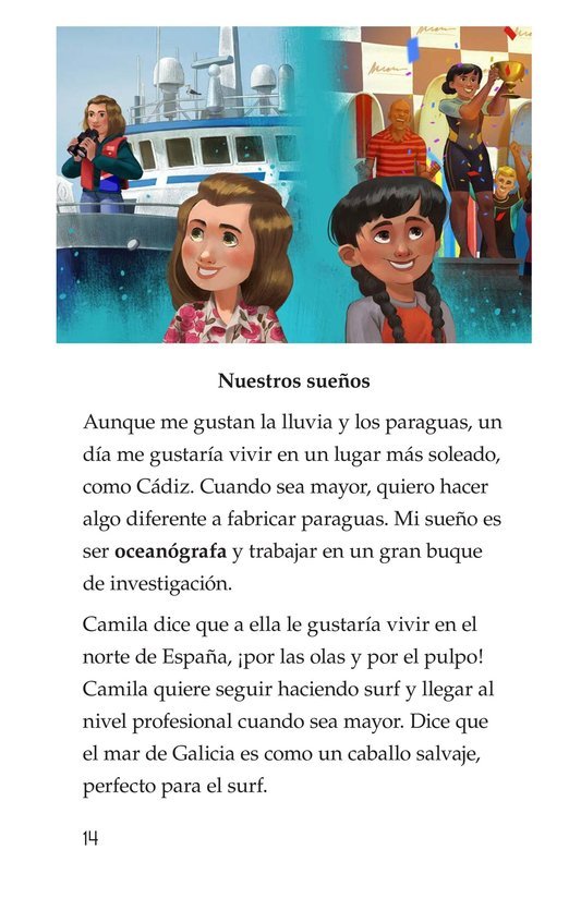 Book Preview For Vivimos en España Page 14