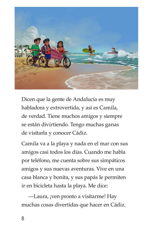 Book Preview For Vivimos en España Page 8