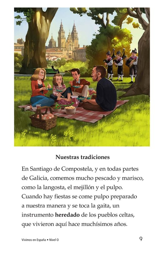 Book Preview For Vivimos en España Page 9