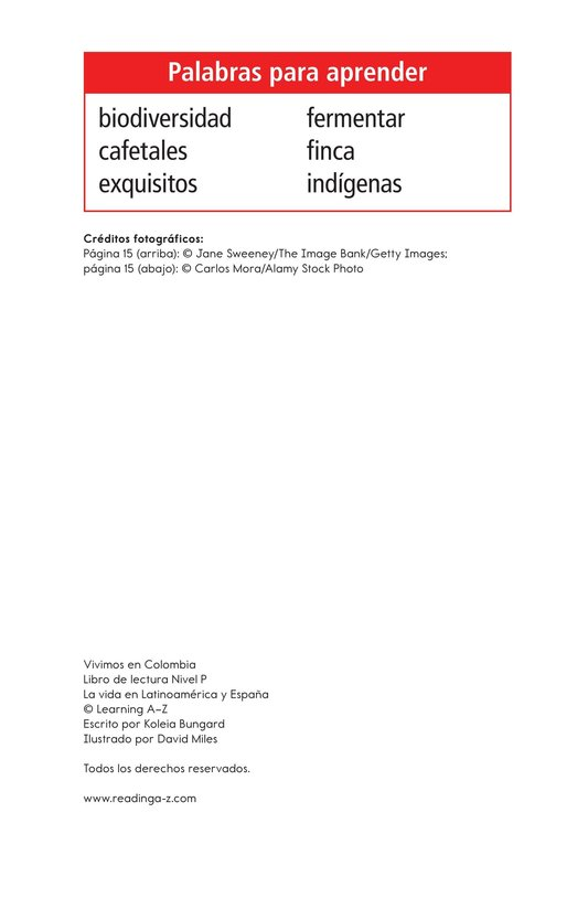 Book Preview For Vivimos en Colombia Page 2