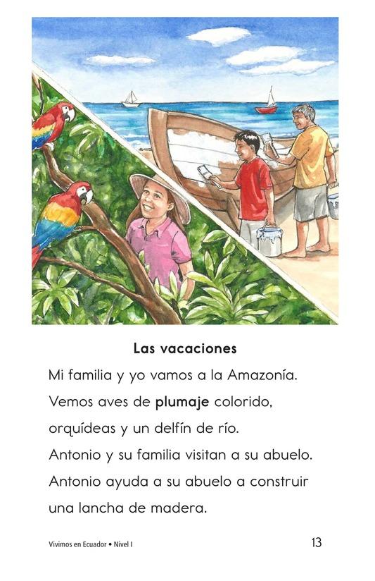 Book Preview For Vivimos en Ecuador Page 13