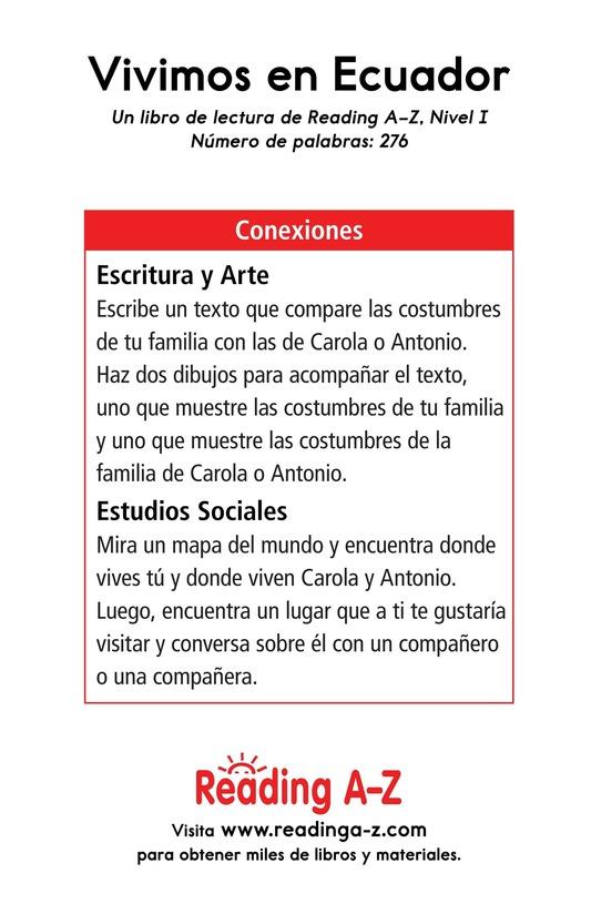 Book Preview For Vivimos en Ecuador Page 17