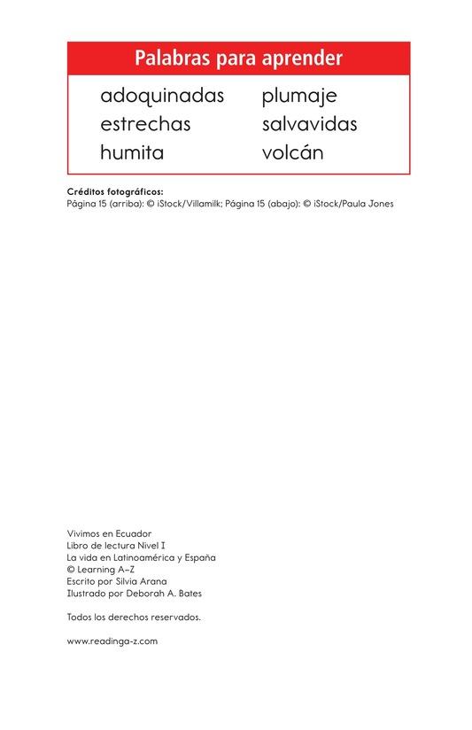 Book Preview For Vivimos en Ecuador Page 2