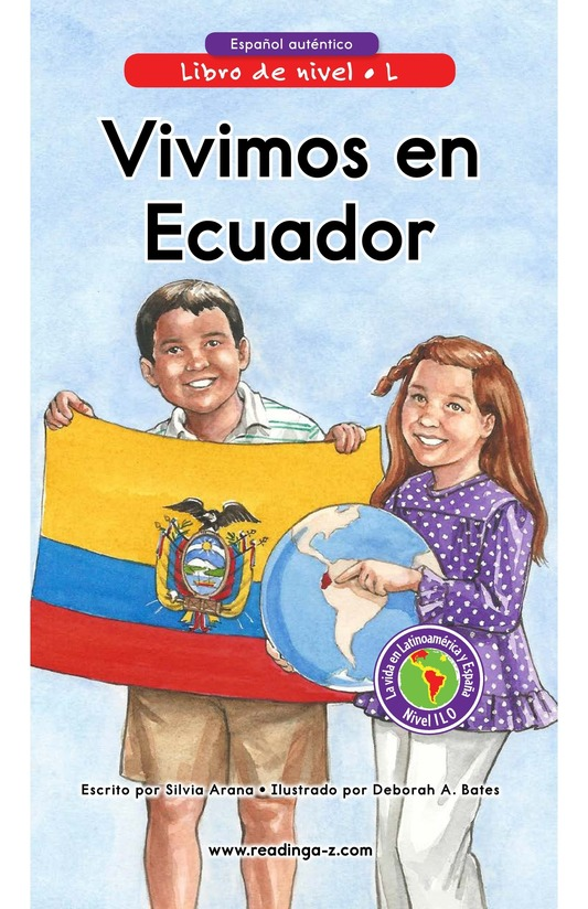 Book Preview For Vivimos en Ecuador Page 0