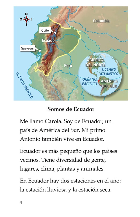 Book Preview For Vivimos en Ecuador Page 4