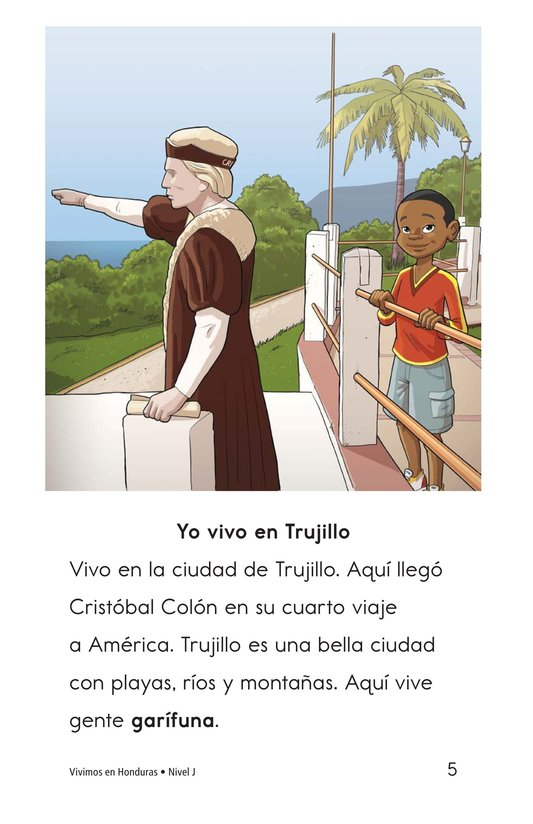 Book Preview For Vivimos en Honduras Page 5