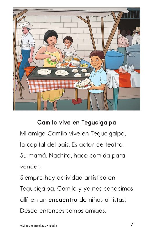 Book Preview For Vivimos en Honduras Page 7