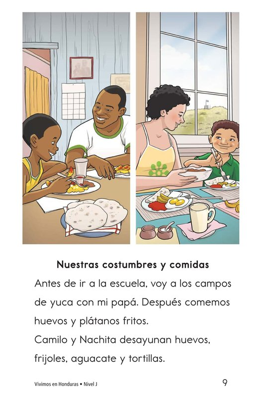 Book Preview For Vivimos en Honduras Page 9
