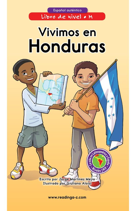 Book Preview For Vivimos en Honduras Page 0