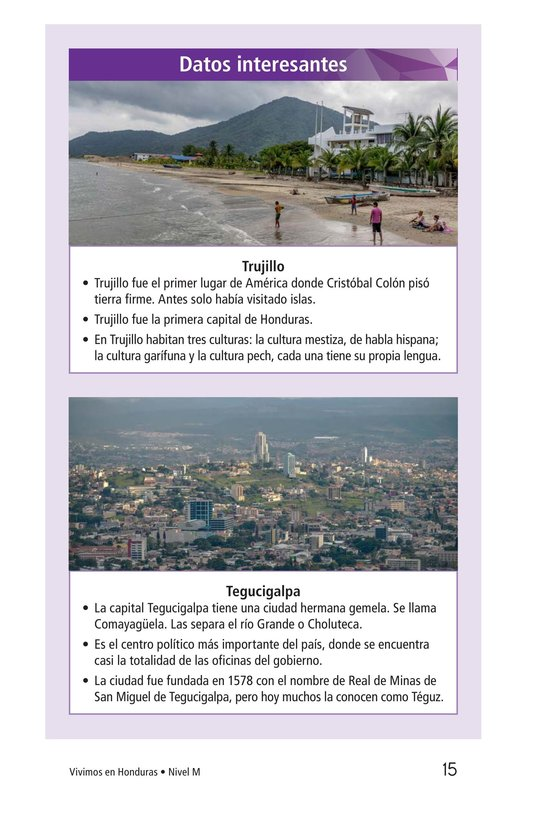 Book Preview For Vivimos en Honduras Page 15