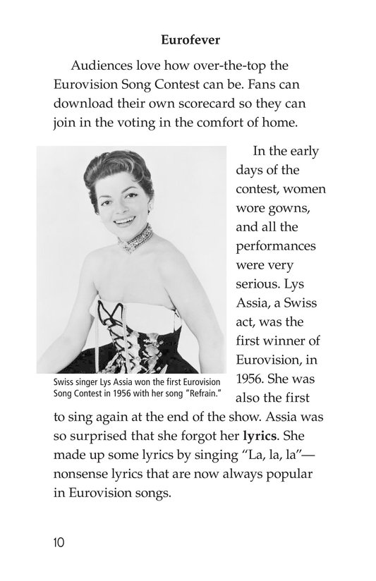 Book Preview For The Eurovision Song Contest! Page 10