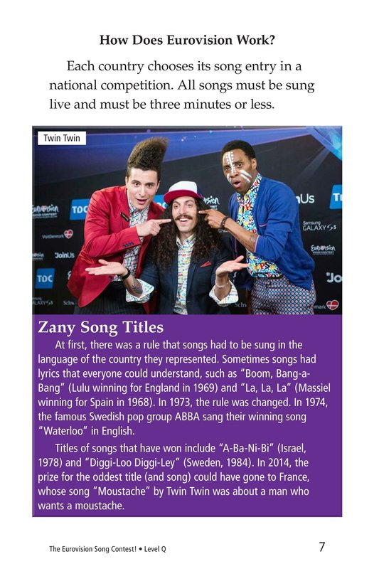 Book Preview For The Eurovision Song Contest! Page 7