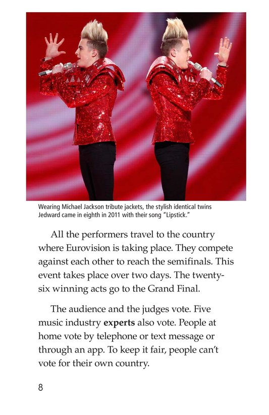 Book Preview For The Eurovision Song Contest! Page 8