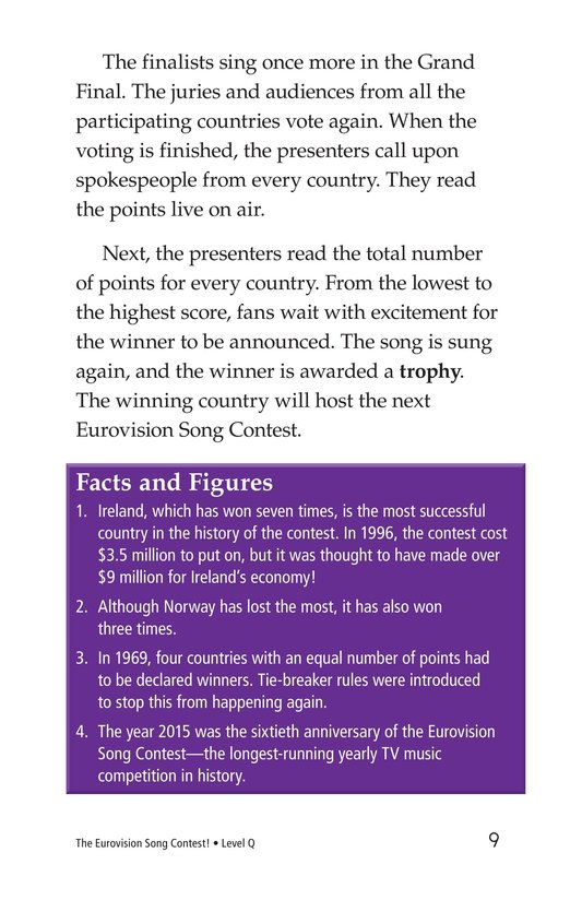 Book Preview For The Eurovision Song Contest! Page 9