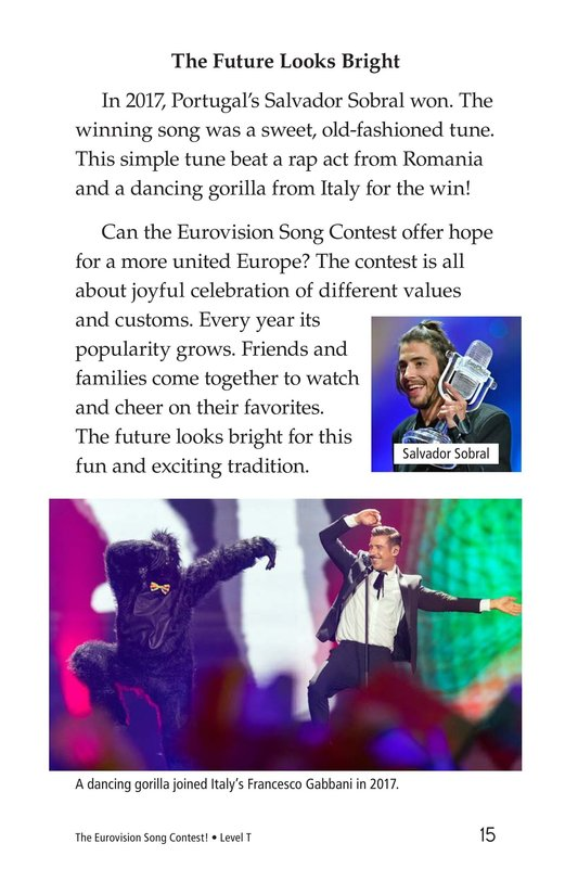 Book Preview For The Eurovision Song Contest! Page 15