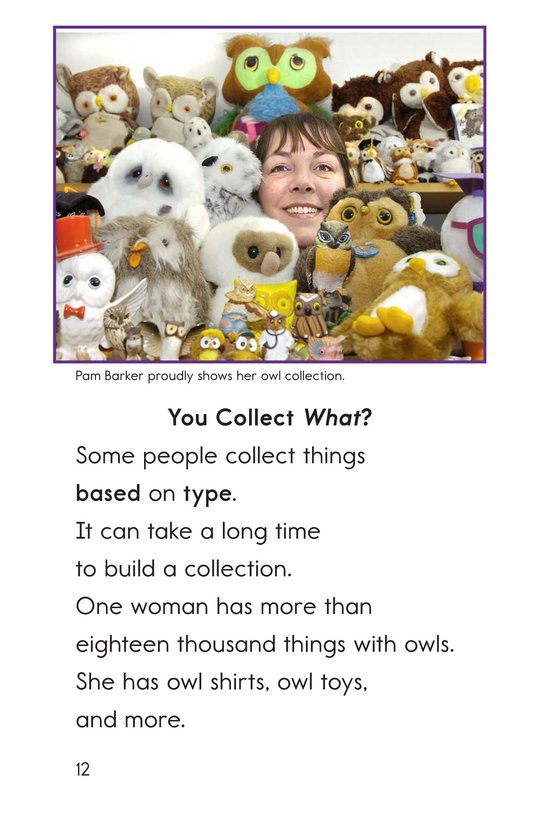 Book Preview For I Collect That! Page 12