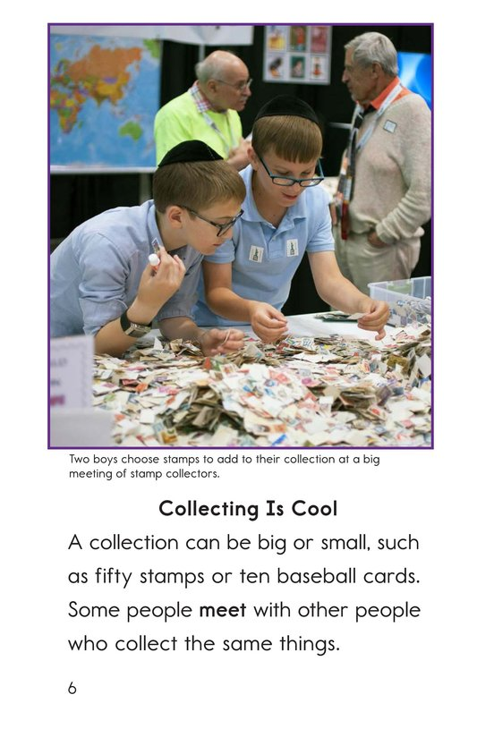 Book Preview For I Collect That! Page 6