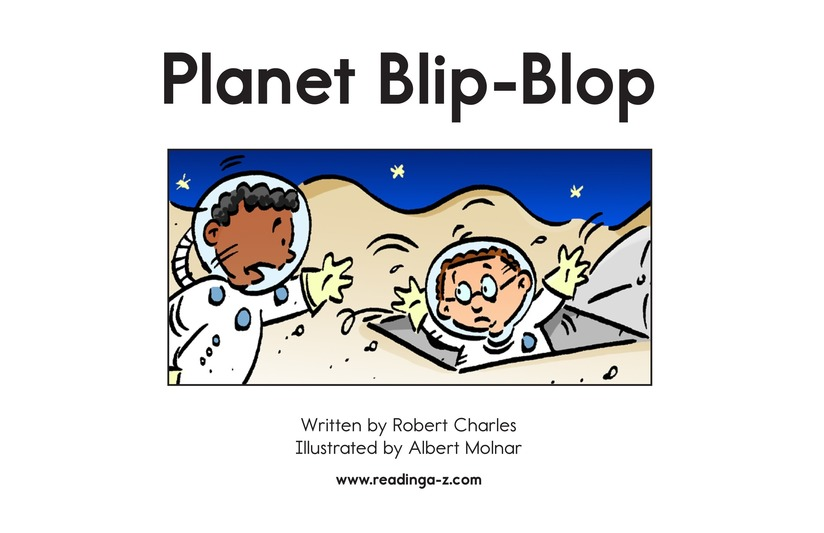 Book Preview For Planet Blip Blop Page 2