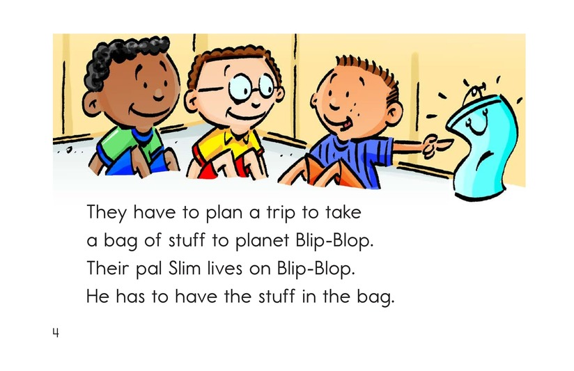 Book Preview For Planet Blip Blop Page 4