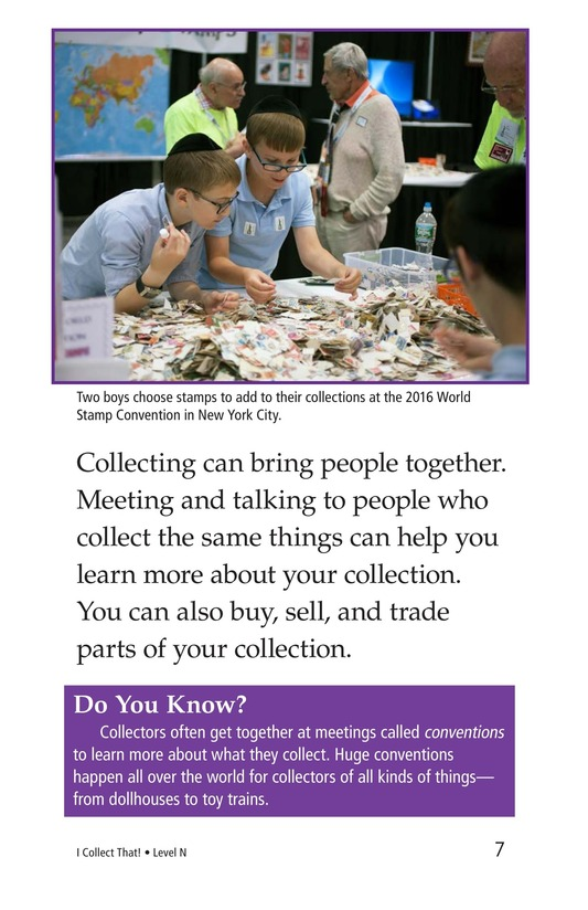 Book Preview For I Collect That! Page 7