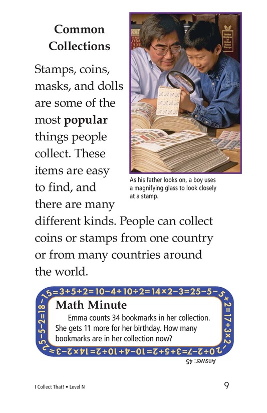 Book Preview For I Collect That! Page 9