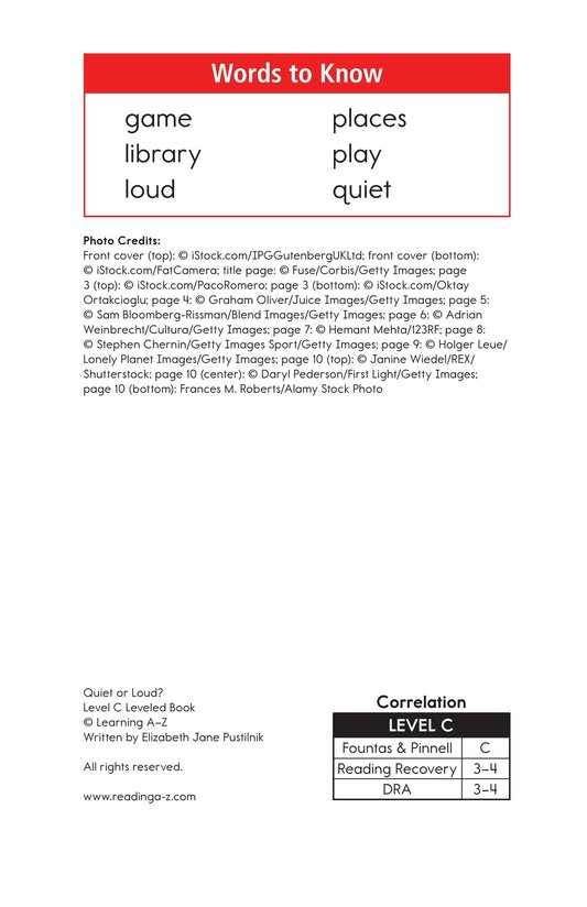 Book Preview For Quiet or Loud? Page 2