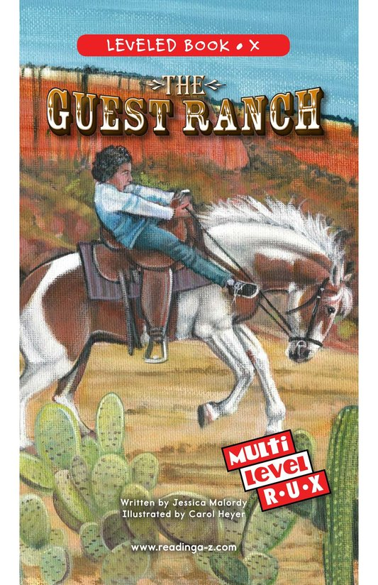 Book Preview For The Guest Ranch Page 0